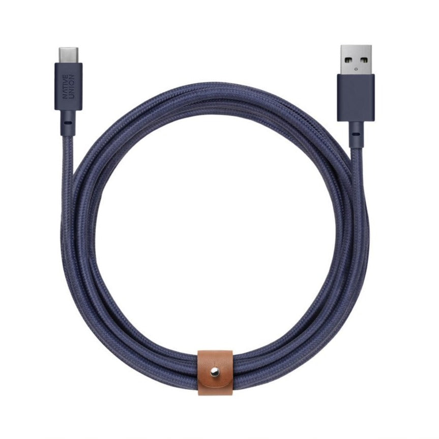 10ft USB-C to USB-A XL Belt Cable