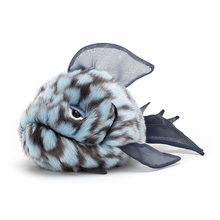 Load image into Gallery viewer, Grumpy Blue Fish