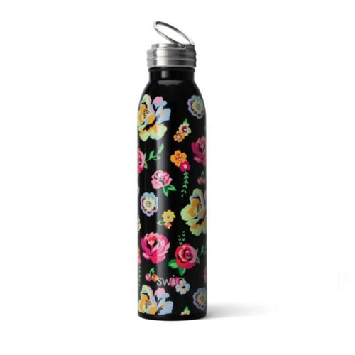 20oz Floral Water Bottle