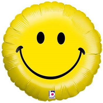 Large Yellow Smiley Face