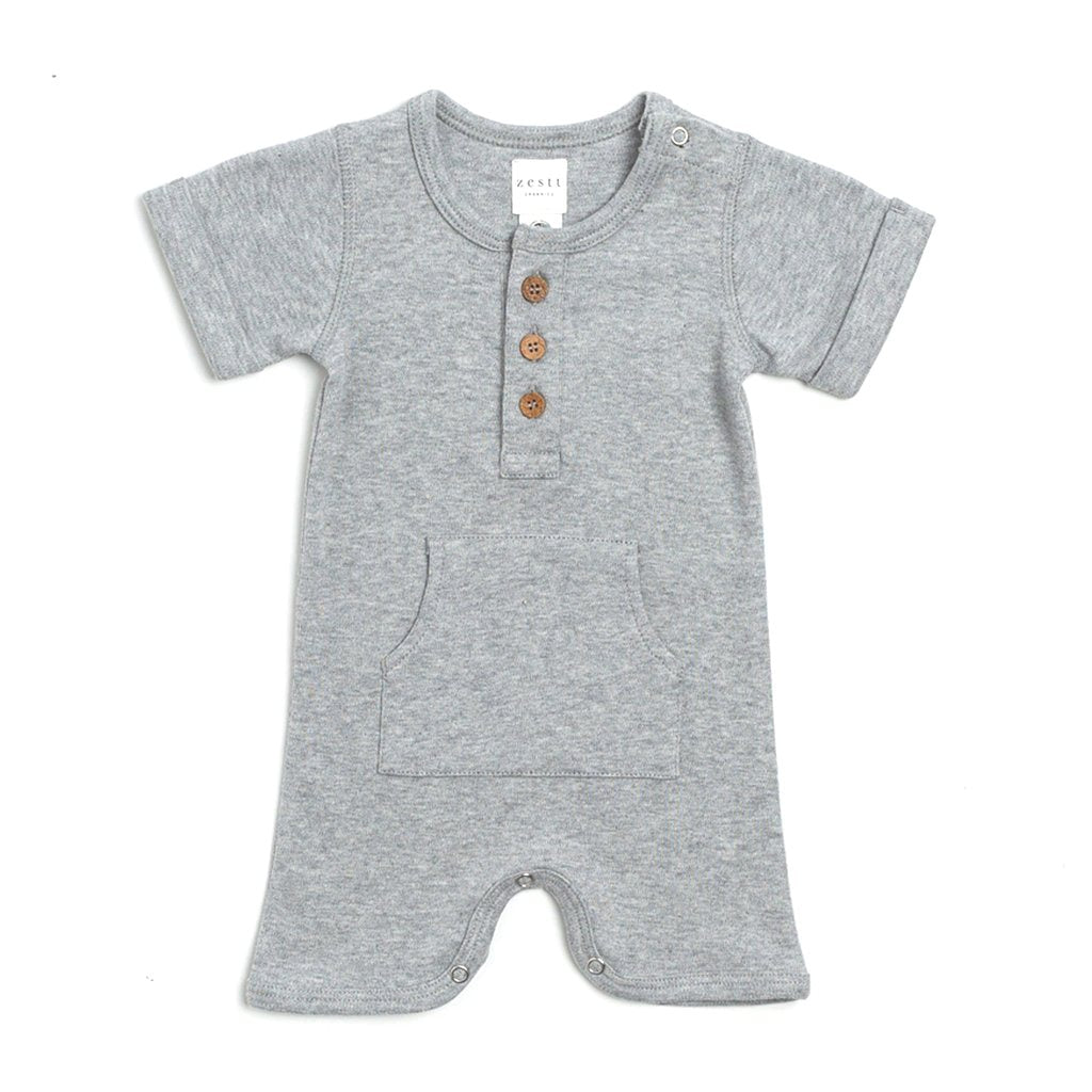 Organic Cotton Everyday Romper