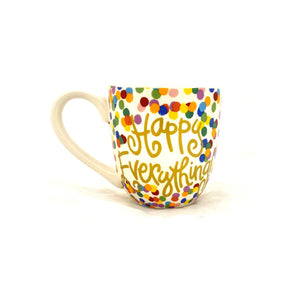 Happy Everything Toss Dot Mug
