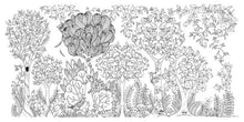 Load image into Gallery viewer, Enchanted Forest Coloring Book