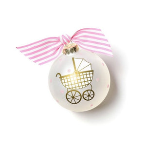 Pink Welcome Little One Ornament
