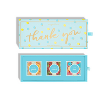 Load image into Gallery viewer, Thank You 3 piece Candy Bento Box