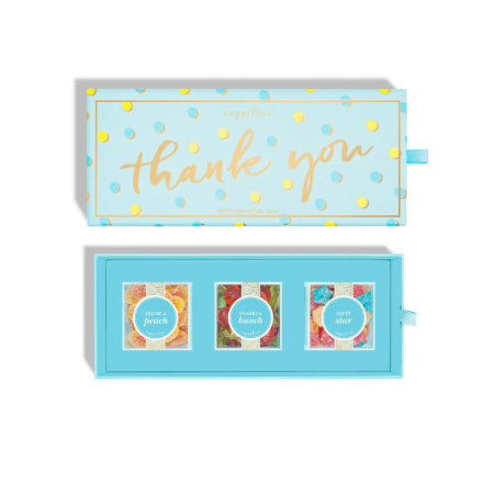 Thank You 3 piece Candy Bento Box