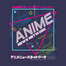 Load image into Gallery viewer, Anime News Network Retrowave Shirt