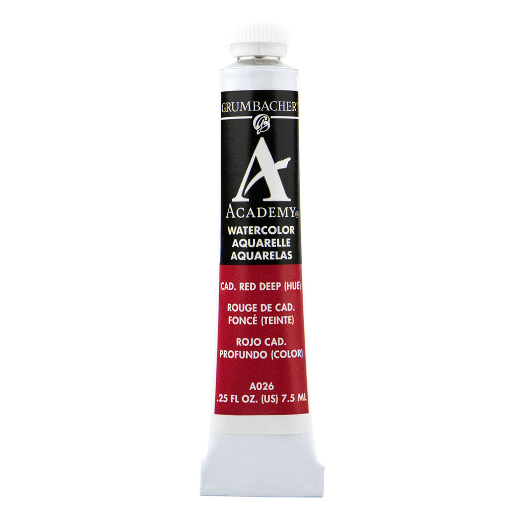 This Academy Watercolor paint is ideal for students and price-conscious artists looking for high quality paints at a sensible price.