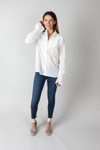 You added <b><u>White Embroidered Blouse</u></b> to your cart.