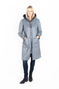 You added <b><u>Grey Reversible Hooded Faux Suede Coat</u></b> to your cart.