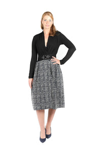 You added <b><u>Black Tweed Skirt and Jersey Top</u></b> to your cart.