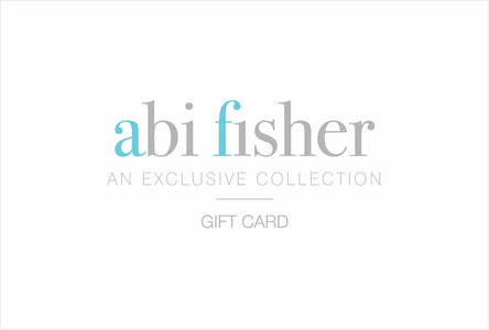 You added <b><u>Abi Fisher Printed Gift Card (for use online and/or in-store)</u></b> to your cart.