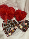 1 Pound Heart Shaped box - assorted truffles