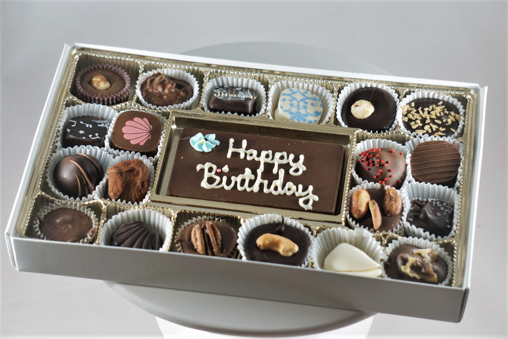 20 Piece Box with Message Bar