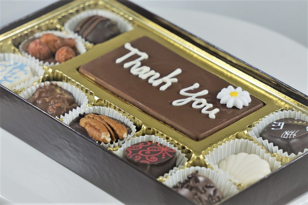 9 Piece Box with Message Bar