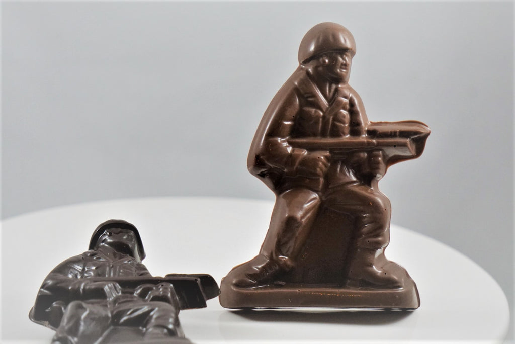 Chocolate Army Man