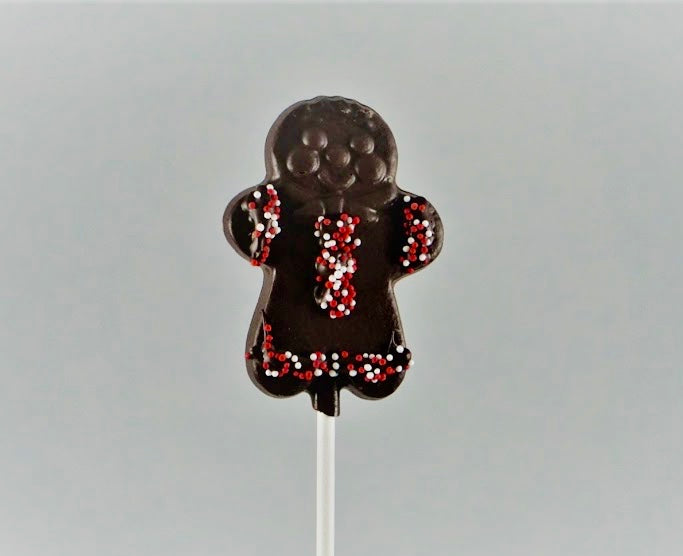 Tiny Gingerbread Man Lollipop