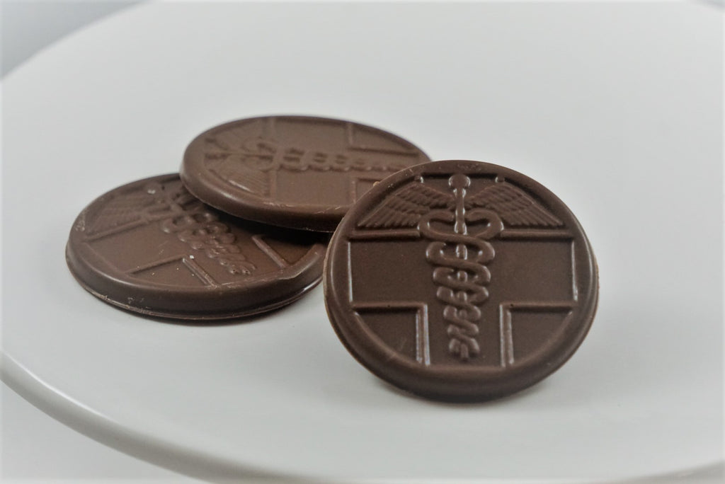 Chocolate Medical Coin