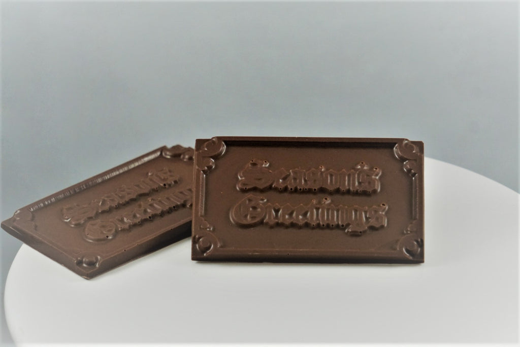 Seasons Greetings Chocolate Message Bar