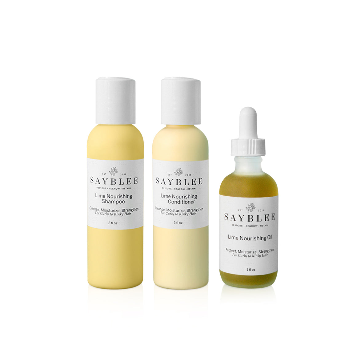 Lime Nourishing System On The Go - Sayblee Hair Growth Treatment Products