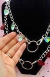 Crystal Hearts Multipurpose Chain