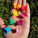 90's Baby Butterfly Hair Clips