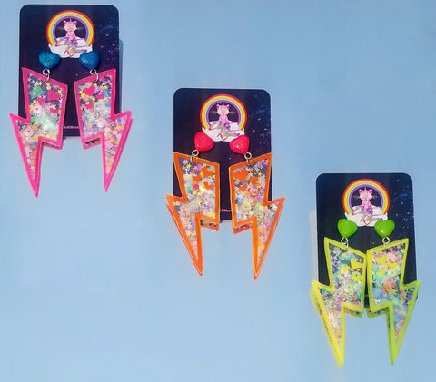 Electric Shaker Earrings