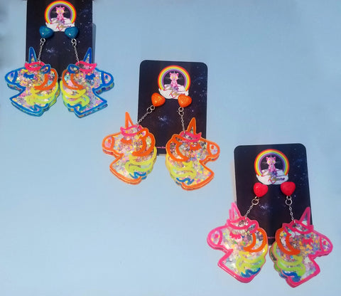Kawaiicorn Shaker Earrings