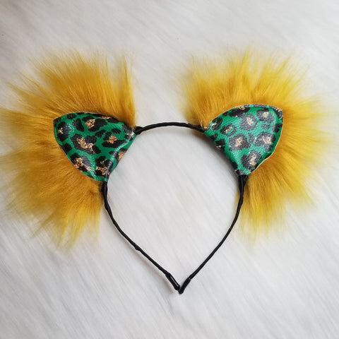 Leopard Leprechaun Kittycorn Ears