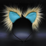 Suede Vegan Leather Kittycorn Ears (More Colors Available)