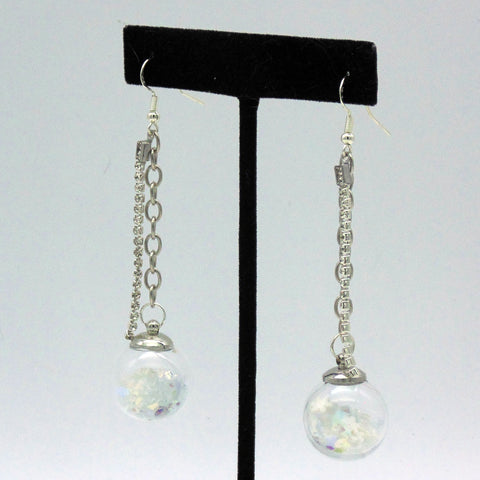 NEW Snowglobe 3D Shaker Earrings