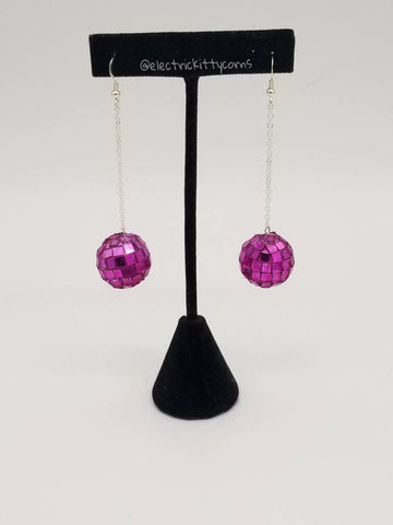Disco Kittycorn Earrings