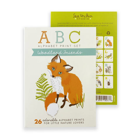 ABC Card Set | Woodland
