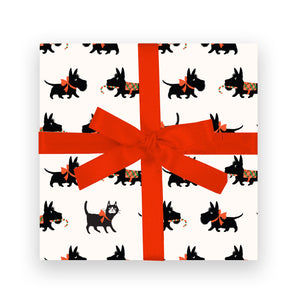 Gift Wrap - Scotty Dogs