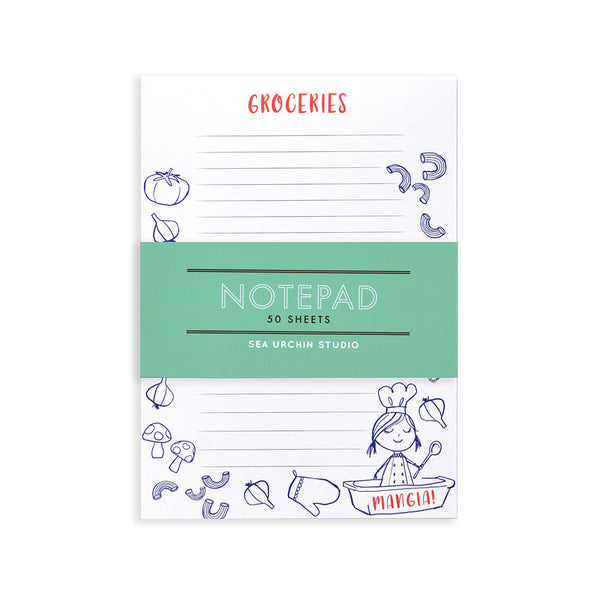 Notepad - Grocery List