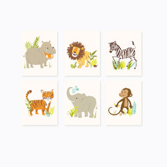 Safari Friends Print Set