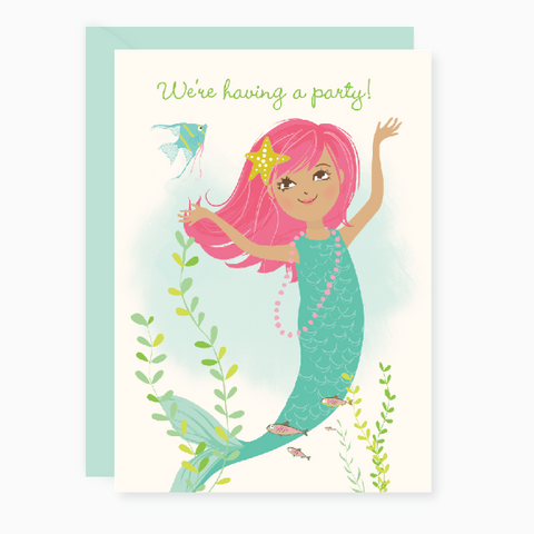 Printable - Mermaid Party