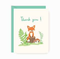 Thank You Notes - Little Fox