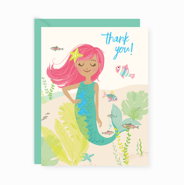 Thank You Notes - Mermaid