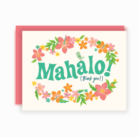 Thank You Notes - Mahalo
