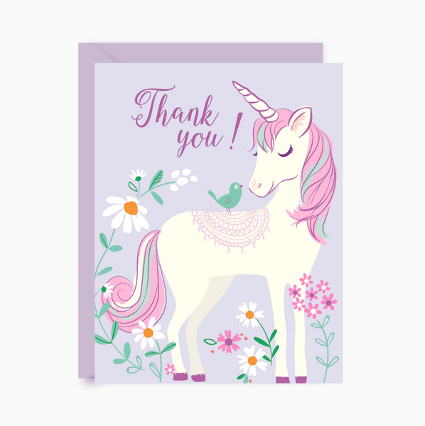 Thank You notes - Unicorn