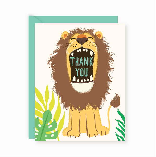 Thank You Notes - Lion