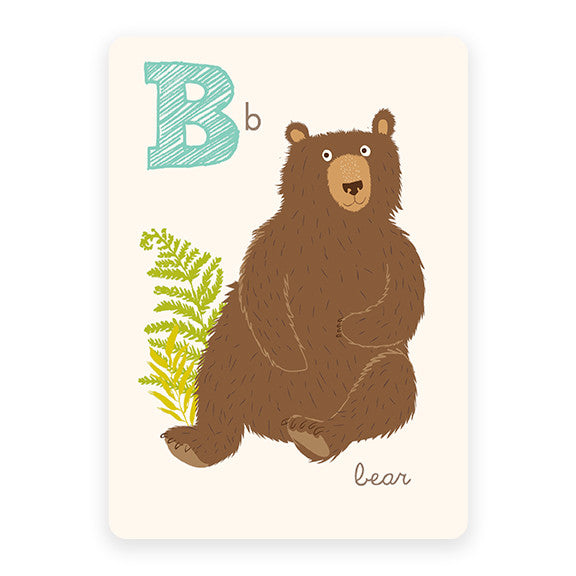 Bear | ABC Card