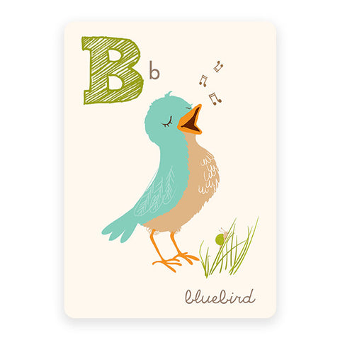 Bluebird | ABC Card