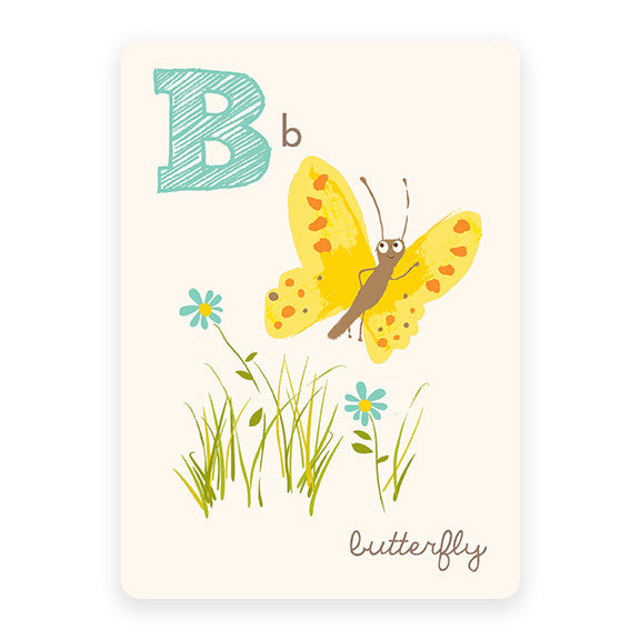 Butterfly | ABC Card