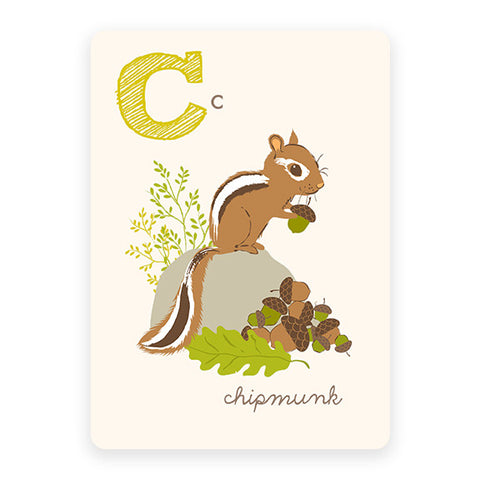 Chipmunk | ABC Card
