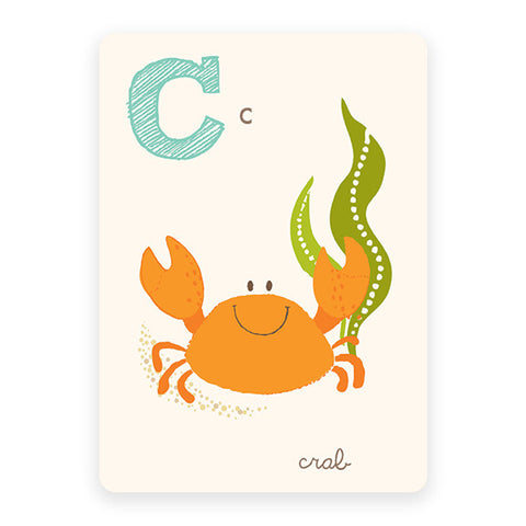 Crab | ABC Card