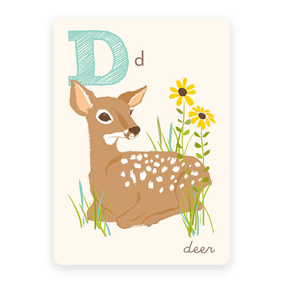 Deer | ABC Card