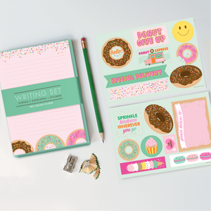 Writing Stationery Set | Donuts & Sweets