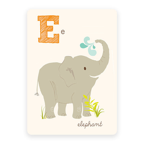 Elephant | ABC Card